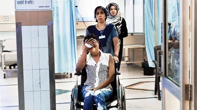 Injured Kenyan student in India withdraws complaint, police find loopholes in her story (photos)