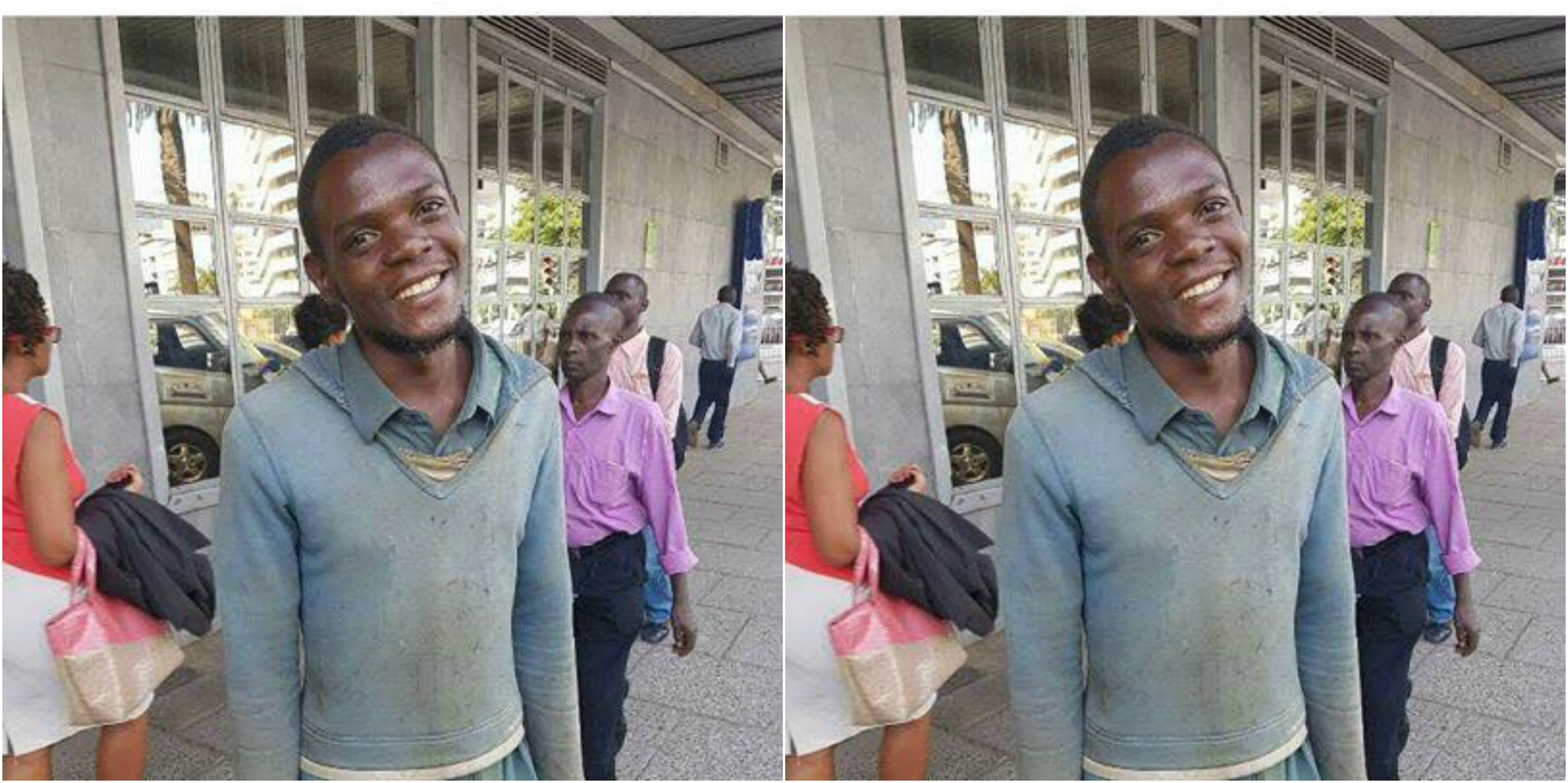 Chokora hands back KSh 200,000 that a stranger dropped in town