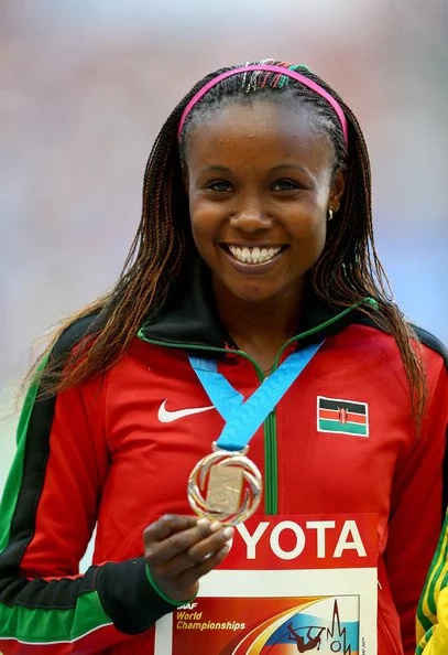 Kenya's most BEAUTIFUL female athlete narrates to Nigerian preacher how demons have destroyed her career, marriage