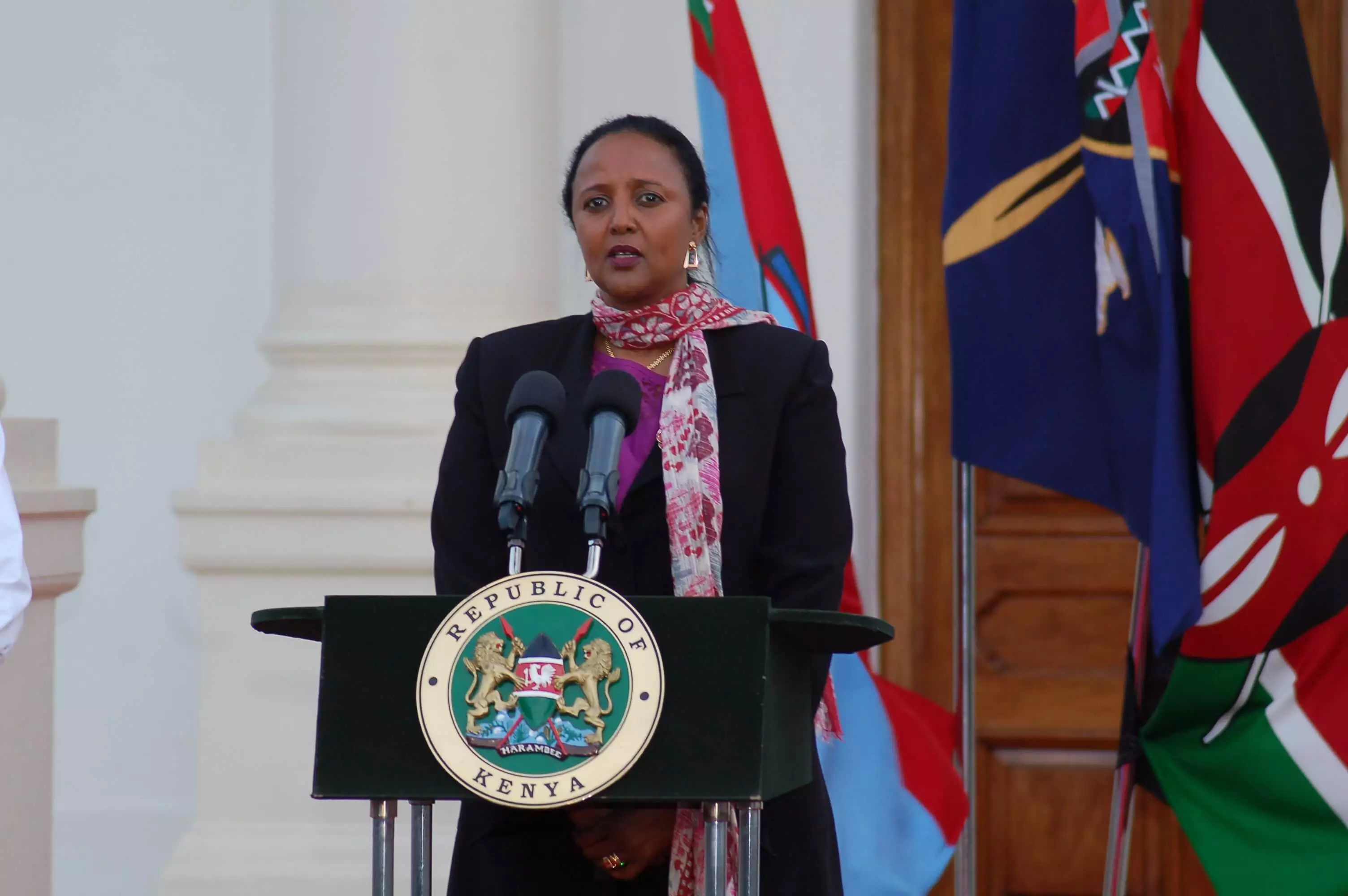 Uhuru to lead campaigns for Amina to clinch AU post