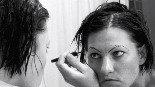 Problems men encounter when bae applies too much make-up