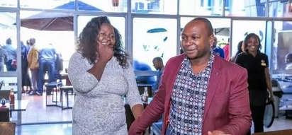 Flamboyant Nairobi businessman known for his public display of affection treats wife to under-sea date