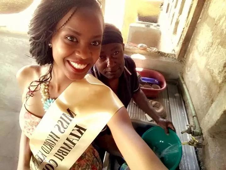 Meet the new hot Miss World Kenya after Roshanara Ebrahim was fired (photos)