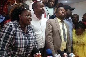 Mwaniaji MKUU wa ugavana Nairobi kwa tiketi ya Jubilee ajiondoa kwa kinyang'anyiro