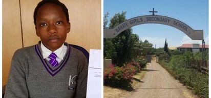 A 2017 KCPE student who scored 368 marks is desperately pleading for help with school fees to join form one