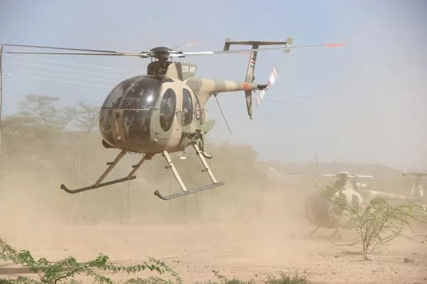KDF launch surprise aerial attack, al-Shabaab suffers