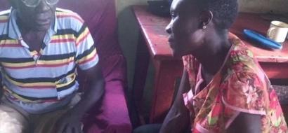Angel! Meet Kenyan lady, 38, whose heart beats for the elderly people in Uganda (photo)