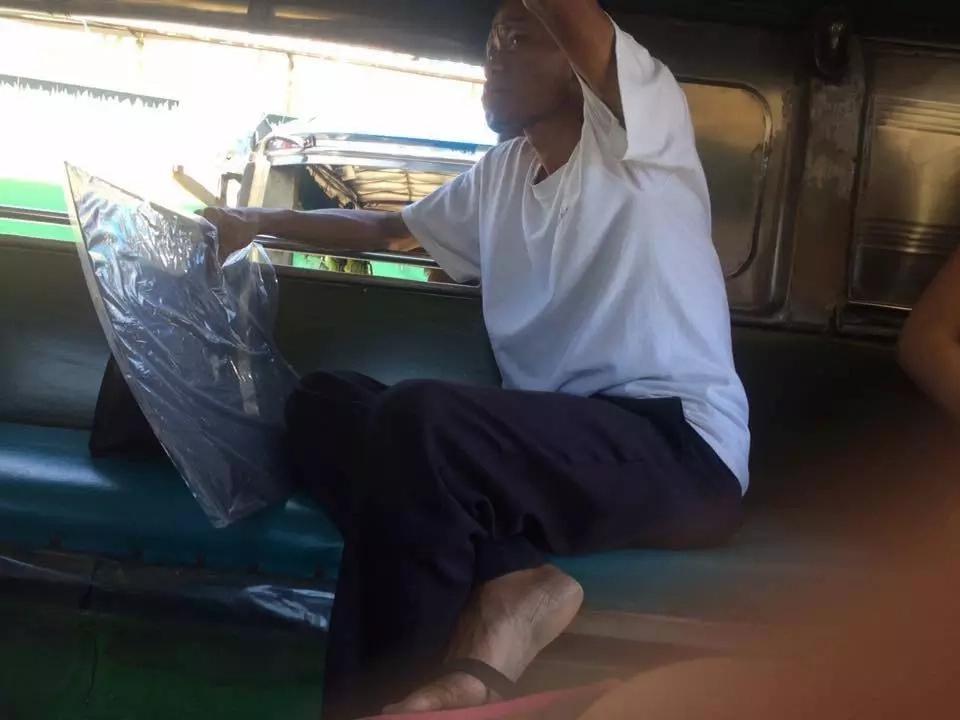 Netizen captures old man masturbating in Manila bound jeepney