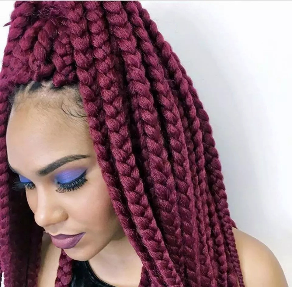 Stay Cute! 12 Lovely Braid styles for women who love colors