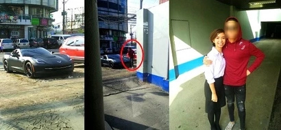 This Pinay was taking pictures of an expensive car but her mind was blown after realizing who owns the vehicle!