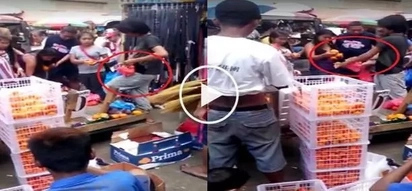 Matindi: Divisoria market vendors caught replacing fresh fruits with rotten ones