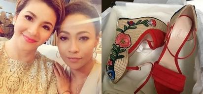 Mapapa-HUWOOH ka nalang! Regine Velasquez gives her kumareng Jaya a 'nakakalokang' birthday gift