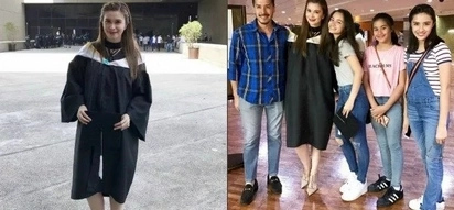 Sunshine Cruz finally graduates with a college degree in Psychology