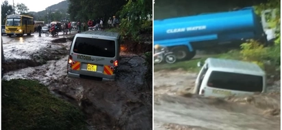 Over 250 families displaced, 7 swept away by floods amid heavy rains across the country