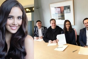 Hello Hollywood! Mega Young signs up with New York-based agency to prepare for her Hollywood showbiz career