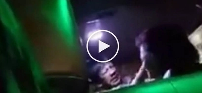 Salbaheng asawa! Abusive Pinoy husband repeatedly punches helpless wife for cheating on him