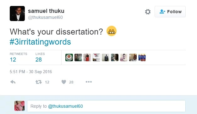 Take a look at some irritating words that Kenyans keep using everyday