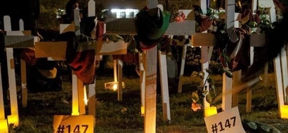Duale leads Kenyans to commemorate Garrisa massacre victims in a unique way