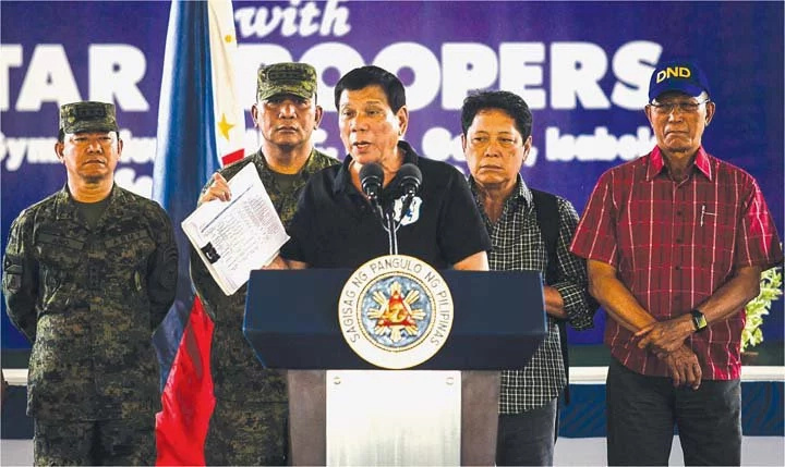 Duterte asks for extension in drug war