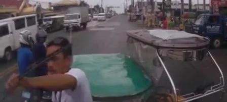 Road rage in Sto Tomas Batangas caught on video