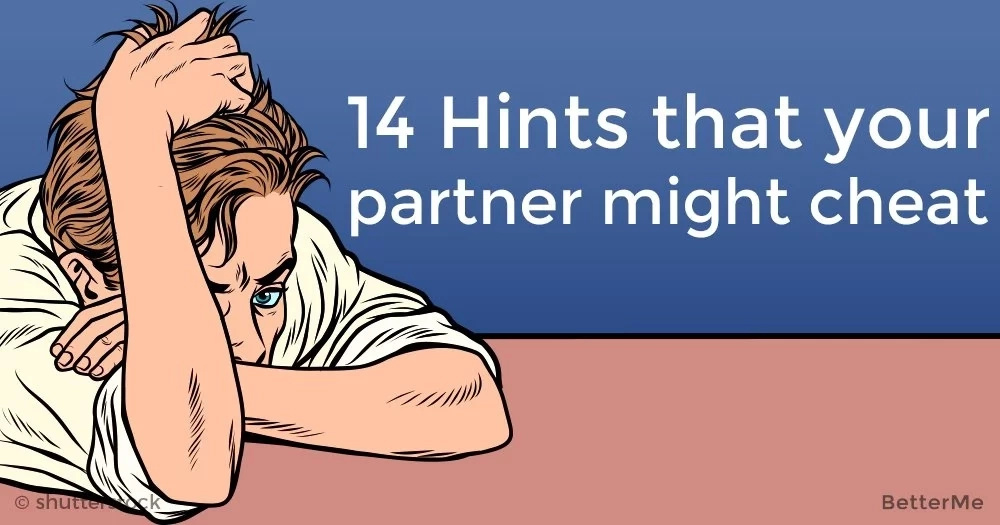 14 hints that your partner might cheat