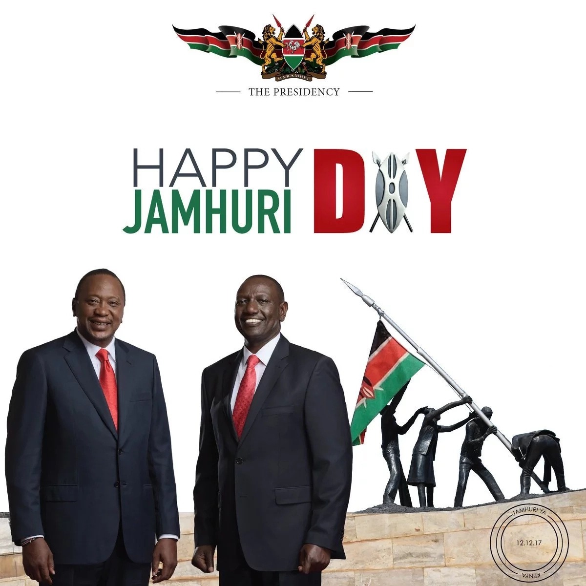Outrage meets list of Kenyans awarded by Uhuru on his fifth Jamhuri day as president