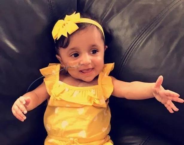 Adorable Inaaya has Wolman Disease