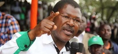 Wetang'ula attacks Atwoli, accuses him of dividing Luhyas