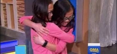 Hija adoptiva descubre que tiene un hermano gemelo perdido. Mira el momento emocional en que se conocen cara a cara