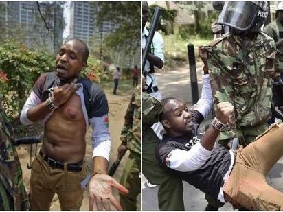 Mwanaharakati Boniface Mwangi ni mmoja kati ya watakaosusia kura Oktoba 26