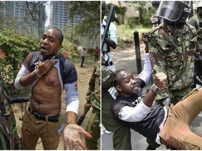 Sitapiga kura Oktoba 26, Boniface Mwangi atangaza hadharani