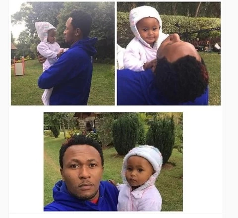 DJ Mo and daughter are look-alikes