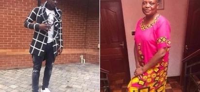 Victor Wanyama autikisa mtandao kwa ujumbe murua aliomtumia mama yake