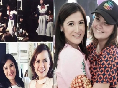 Camille Prats gives us the ultimate throwback with her reunion with 'Sarah ang Munting Prinsesa' cast