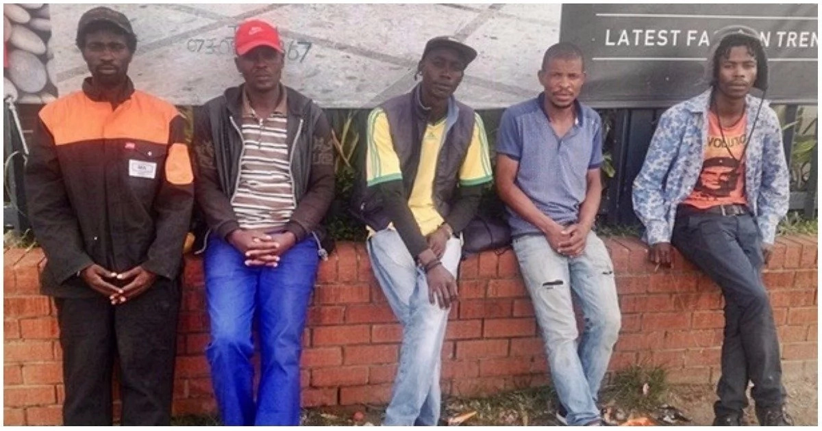 Unemployed men reveal how they are forced to wait desperately by the roadside for odd jobs
