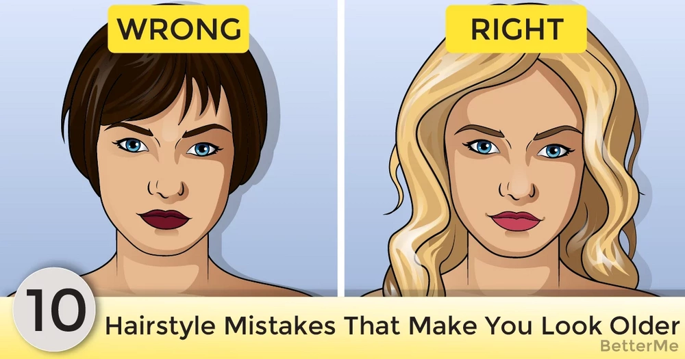 10 hairstyle mistakes that actually make you look older