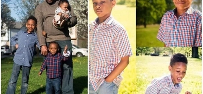 Awesome! Dad retires to take care of grandsons so his daughters wouldn't put them in daycare (photos)