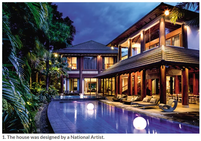 Wow! Willie Revillame's Tropical House will remind you of hotels and resorts