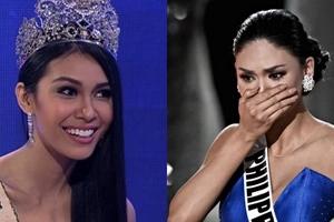 Aray ko! Miss Earth 2015 Angelia Ong inaming nasapawan ni Miss Universe 2015 Pia Wurtzbach