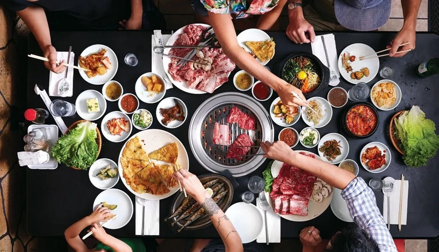 Korean cuisine is one of the healthiest in the world