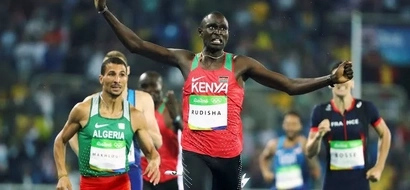 What David Rudisha's wife told him before he won gold in Rio (Video)