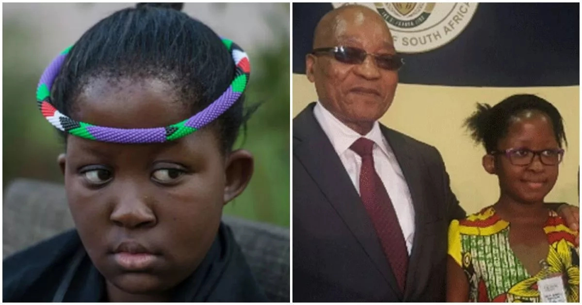 Meet 12-year-old Queen who has rainmaking powers and is South Africa's only female traditional ruler