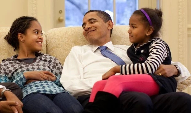 Barack Obama With Kids Vs. Donald Trump With Kids