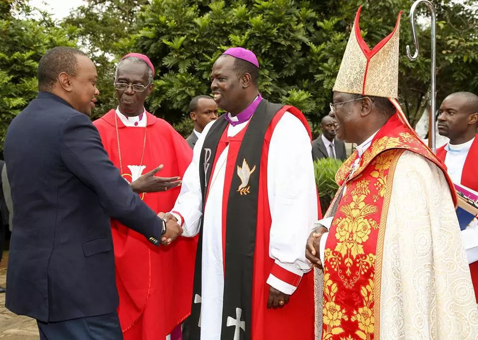 Rev Jackson Ole Sapit enthroned as 6th Anglican archbishop