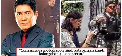 Maangas daw pero walang modo! Erwin Tulfo castigates Pia Ranada for being 'rude' to the palace guard