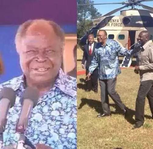 Shati la Rachel Ruto linalofanana na la Rais Uhuru