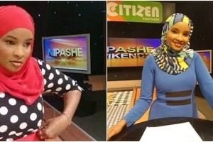 Mtangazaji wa Citizen TV Lulu Hassan ammiminia BWANAKE mapenzi sifa tele (picha)