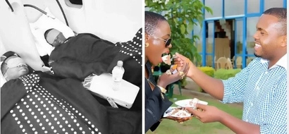 Singer Akothee gives the clearest hint she is madly in love with her employee