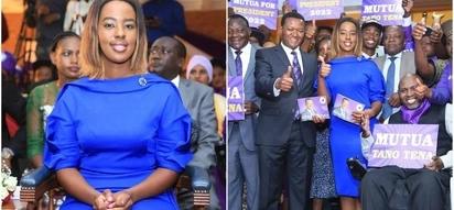 Mkewe Alfred Mutua awaacha wanaume vinywa wazi kwa mara nyingine (picha)