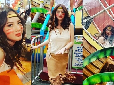 Ellen Adarna dresses up as Pocahontas because 'trip niya lang'